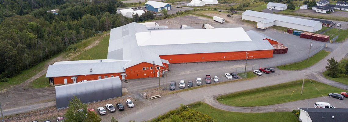 60,000 sq. ft. State-of-the-Art Packing Plant